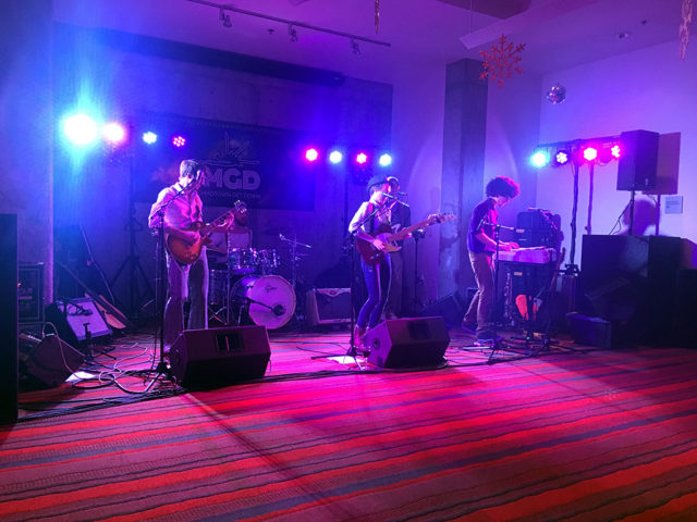 corporate event live music hotel red