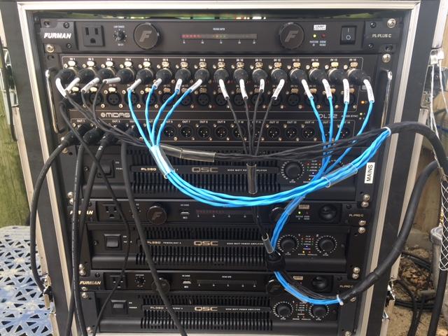 QSC PL380 Midas DL32R