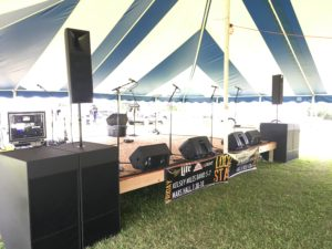 festival county fair outdoor live music event sound by 608 sound and light madison wisconsin dane county
