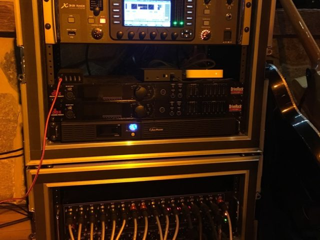 behringer x32 rack midas dl32 stage box sub snake jtr speakers live sound production lighting