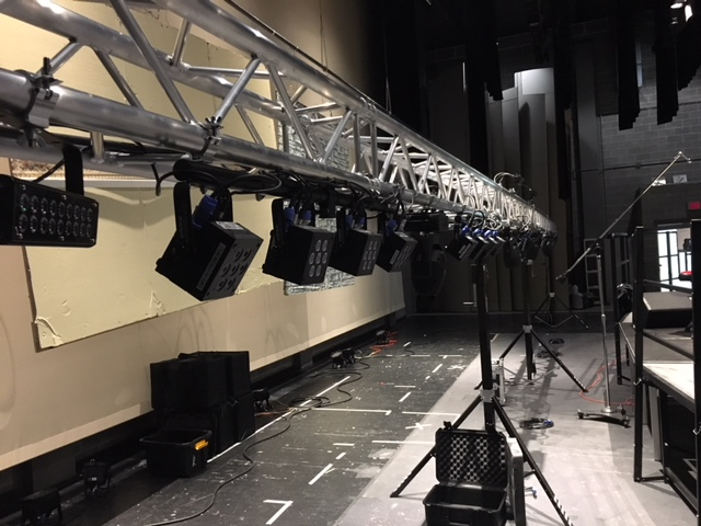 Truss 608 sound and light production madison wi dane county