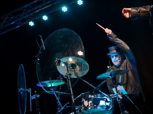 shy baffles drum shield madison wi axpona 2018 vanity crash 608 sound light production live music stage