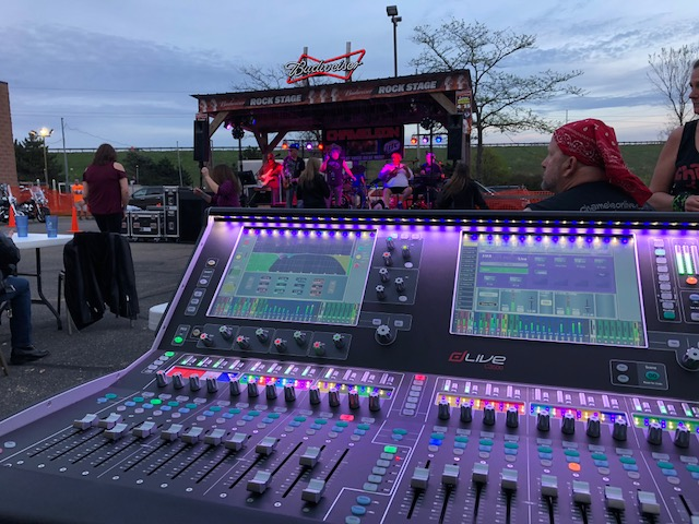 allen heath dlive console foh board mixer live sound music venue production 608 sound light madison dane county