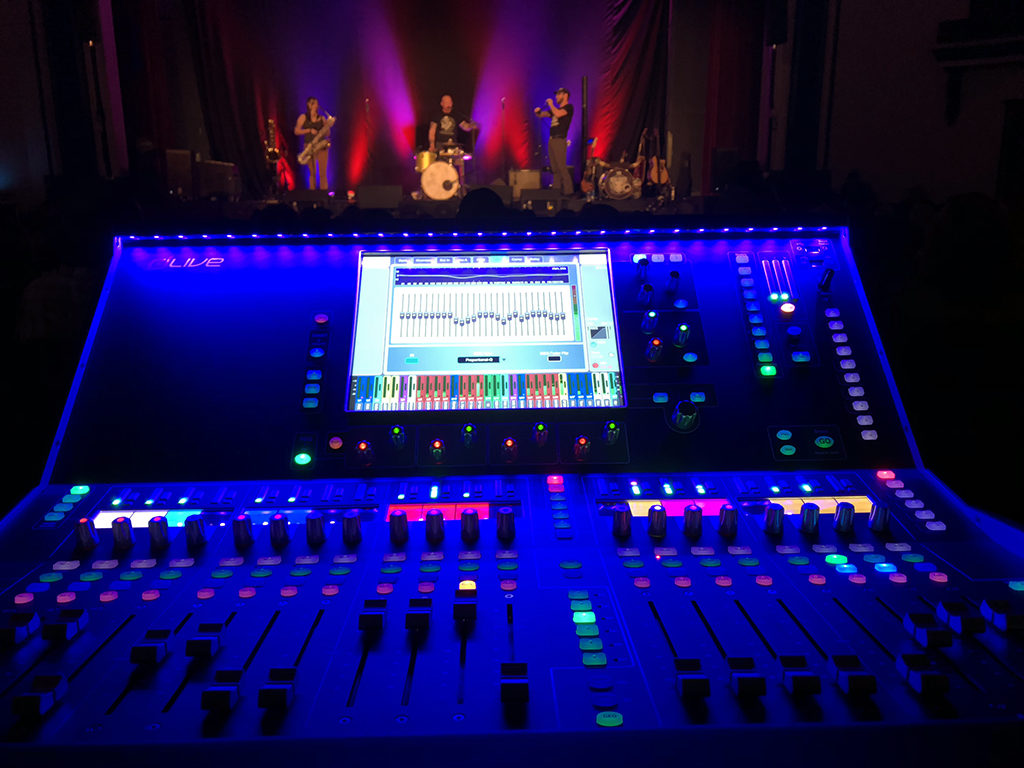 Mixing console live sound engineer madison wi dane county 608 sound light production stage festival