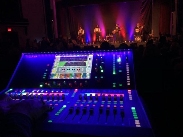 FOH live sound lighting production madison wi dane county 608 sound & light